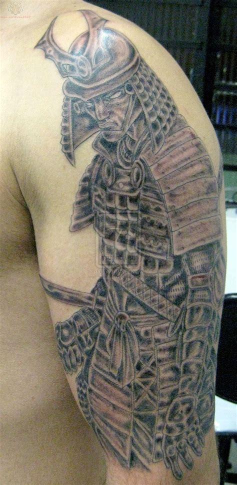 samurai  sleeve tattoos cool tattoos bonbaden