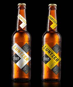 3 traits of great beer bottle labels blue label digital With beverage bottle labels