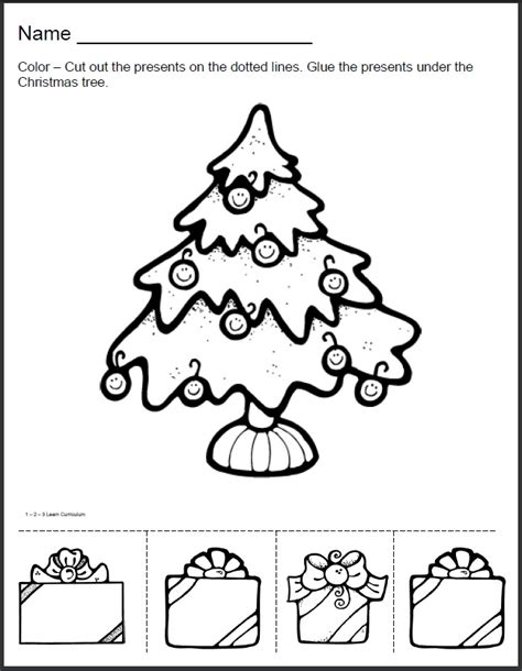1 2 3 learn curriculum christmas worksheets added