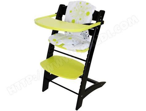 chaise évolutive badabulle chaise haute évolutive badabulle b010009 noir et anis pas