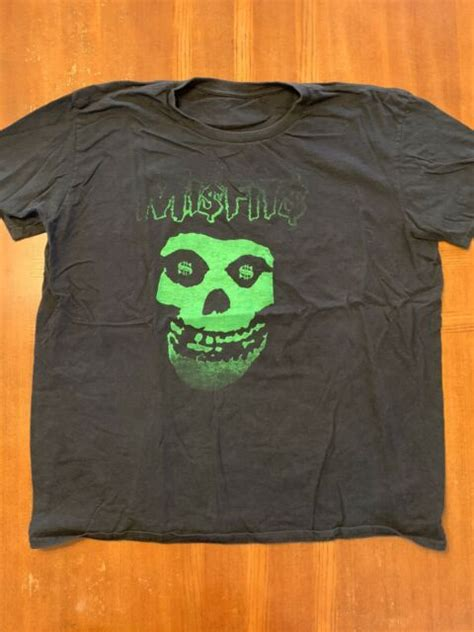 Official PreOwned Misfits Fiend Skull 2000 Vintage Black ...