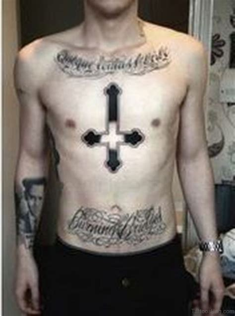 good  cross tattoos designs  chest