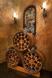 Adopt, This, Barrel, The, Barrel, Rack, Offers, New, Life, To, Old, Wine, Barrels, With, Charming, Functional