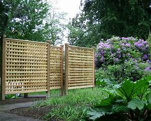 Lattice Privacy Fence Home Design Ideas, Pictures, Remodel
