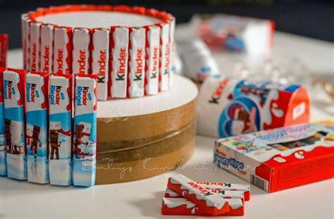 kinderschokolade torte  diy und selbermachen candy
