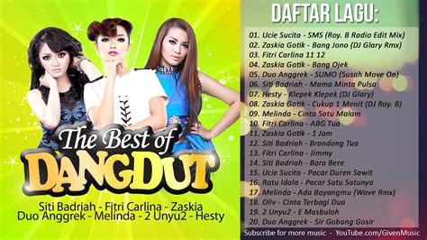 Daftar Lagu Dangdut Populer 20 Hits Lagu Dangdut Terbaru