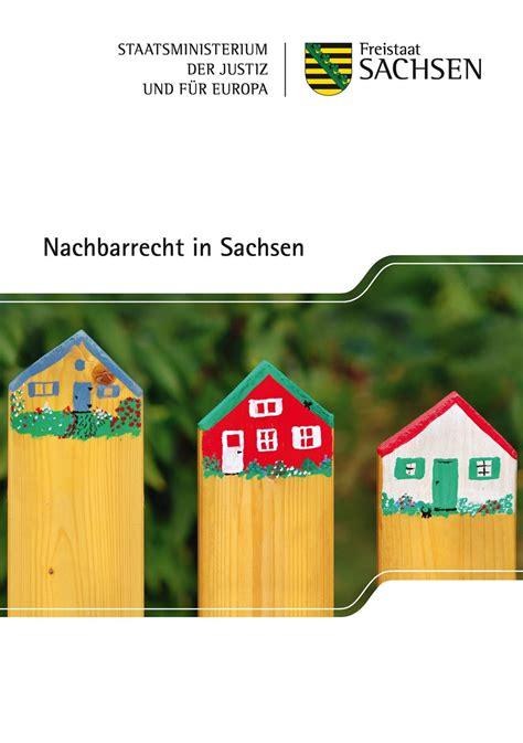 Nachbarrecht Ihre Rechte Im Flur by Nachbarrecht In Sachsen