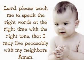 quotes and sayings lord teach me to speak the right words