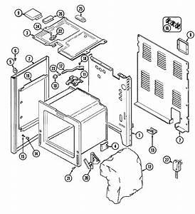 Body Diagram  U0026 Parts List For Model 3842xrw Magic