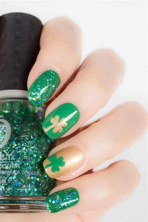 st patricks day nail designs st s day nail designs fashion news