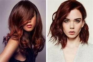 Couleur Cheveux Marron Chocolat : la coloration broux le roux pour les brunes ~ Melissatoandfro.com Idées de Décoration
