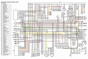Reference  High Res Wiring Diagram For The Tiger 800xc