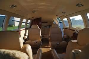 Cessna 414 Interior