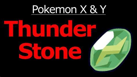 Pokemon X and Y Thunder Stone Location YouTube
