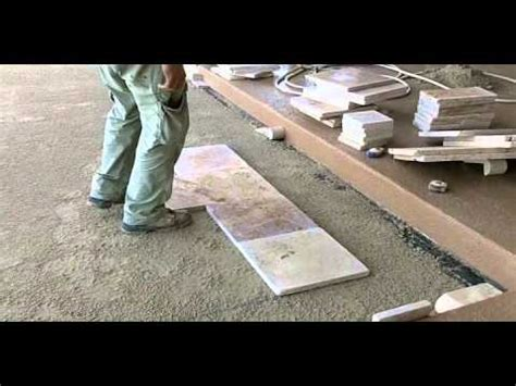 travertine paver pool deck installation part  youtube