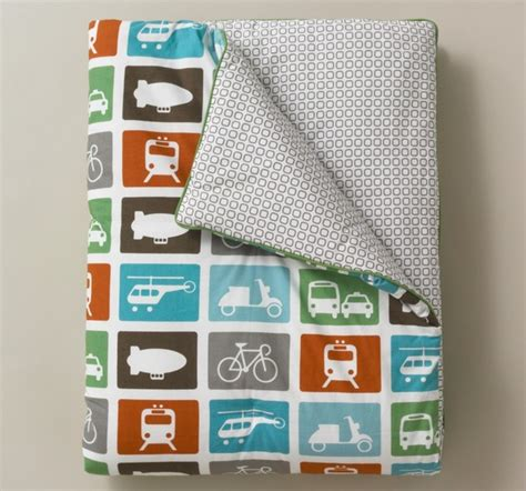 dwellstudio transportation play blanket modern kids