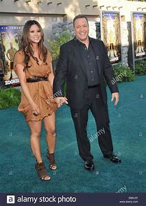 Kevin James and Steffiana de la Cruz The Los Angeles ...