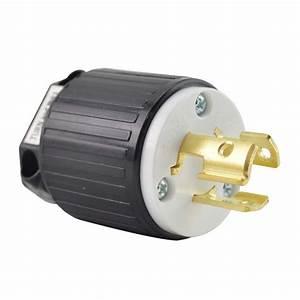 Superior Electric Yga027 Twist Lock Electrical Plug  3p