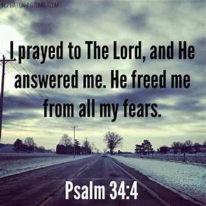 The gallery for --> Psalms 34 4