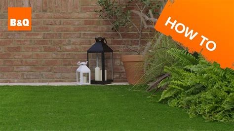 How To Lay Artificial Grass Youtube