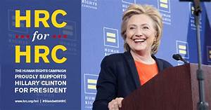 Human Rights Campaign Endorses Hillary Clinton for ...