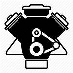 Engine Motor Icon Diesel Clipart Icons Transparent
