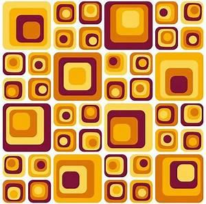 Tapeten In Brauntönen : geometrische formen mit abgerundeten ecken und kanten das erinnert an die 70er jahre erst ~ Sanjose-hotels-ca.com Haus und Dekorationen