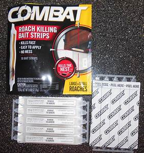 Combat Bugs with New Combat Roach Killing Bait Strips ...