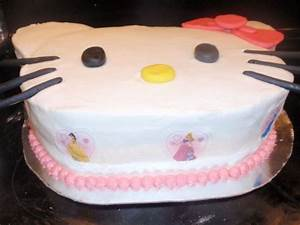 Hello Kitty Princess Cake - CakeCentral.com