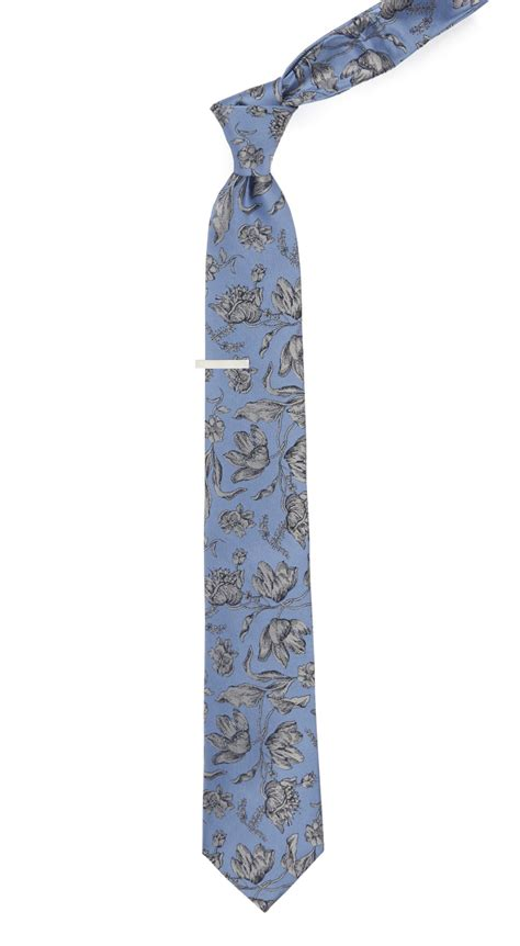 light blue floral tie light blue floral swell tie ties bow ties and pocket