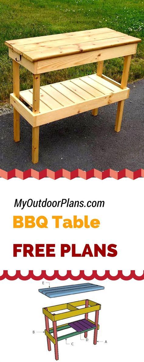 ideas  bbq table  pinterest picnic table