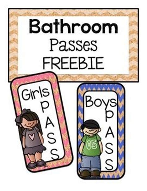 Student Bathroom Pass Ideas by 25 Best Ideas About Bathroom Pass On