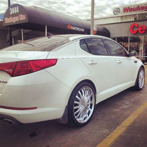 Gurnee Kia by 2013 Kia Optima With Custom Wheels Happycustomer