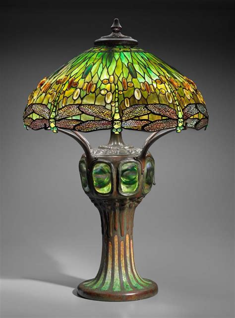 hanging head dragonfly table lamp museum  fine arts