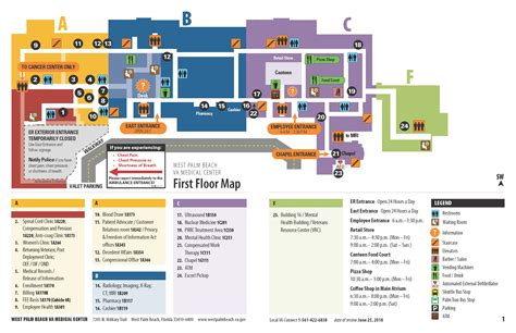 facility map west palm beach va medical center