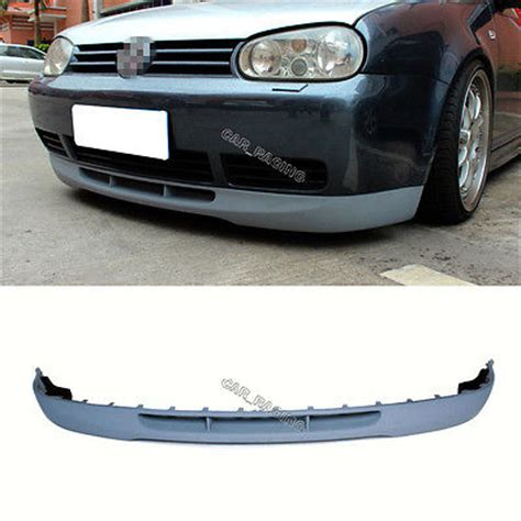 golf 4 spoiler v type golf 4 mk 4 front lip spoiler fit for vw non gti bumper 98 04 unpainted in bumpers from