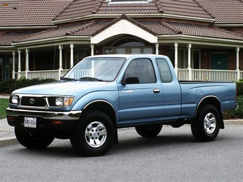 Toyota Tacoma 1995 by Toyota Tacoma Xtracab 4wd 1995 98 Photos 1280x960