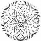 Coloring Pages Mandala Printable Mandalas sketch template