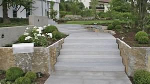 Gartenmauern Aus Naturstein : blockstufen seitlich krustenplatten aus muschelkalk ~ Sanjose-hotels-ca.com Haus und Dekorationen