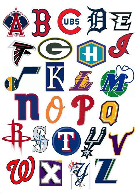 sports team logos initials google search monogrampotters seallogo alphabet symbols
