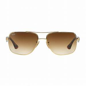 Ray Ban New Wayfarer Size Chart Ray Ban Men 39 S Square Double Bridge Metal Sunglasses