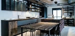 Le Industrielook by Indogate Com Decoration Cuisine Style Industriel