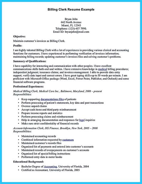 Billing Specialist Resume by Exciting Billing Specialist Resume That Brings The To You