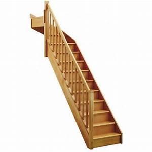 Escalier Quart Tournant Haut Droit : escalier escalier sur mesure leroy merlin ~ Dailycaller-alerts.com Idées de Décoration