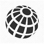 Globe Icon Sphere Global Earth Communication International