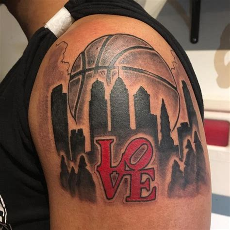 tatuajes inspirados en el basquetbol  baloncesto