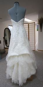 his hers and ours diy wedding gown bustle With how to bustle a lace wedding dress