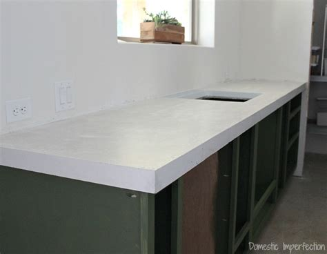 concrete countertops diy diy concrete countertops part ii the pour domestic