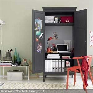 Schreibtisch Im Schrank Verstecken : 155 besten arbeitszimmer bilder auf pinterest ~ Markanthonyermac.com Haus und Dekorationen