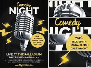 Images of Comedy Night Poster Template - #golfclub